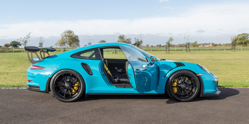 Porsche 991 Gen1 Gt3rs Clubsport Miami Blue For Sale Sold Alastair Bols