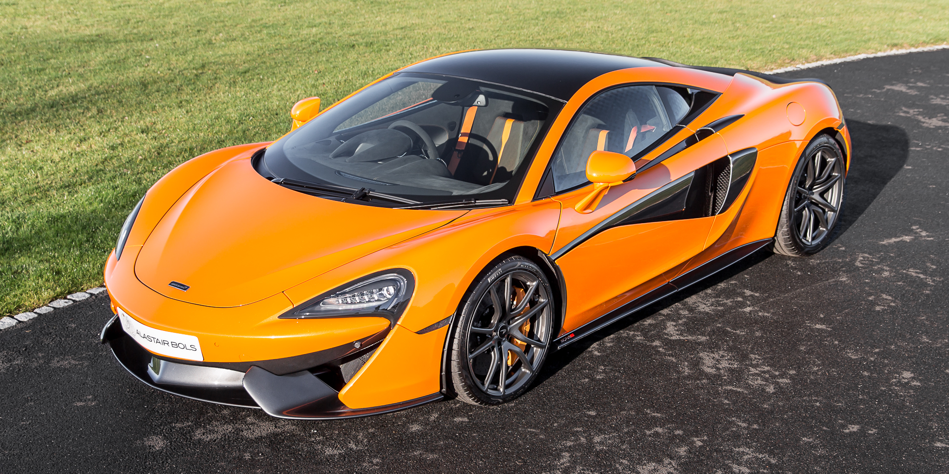 McLaren 570S Coupe Ventura Orange