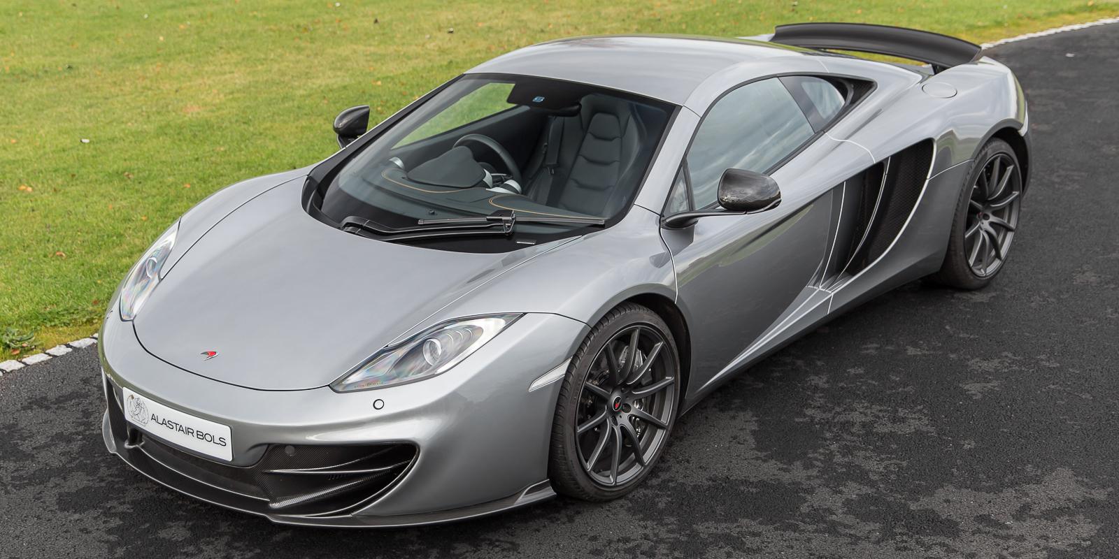 McLaren 12C Coupe Titanium silver