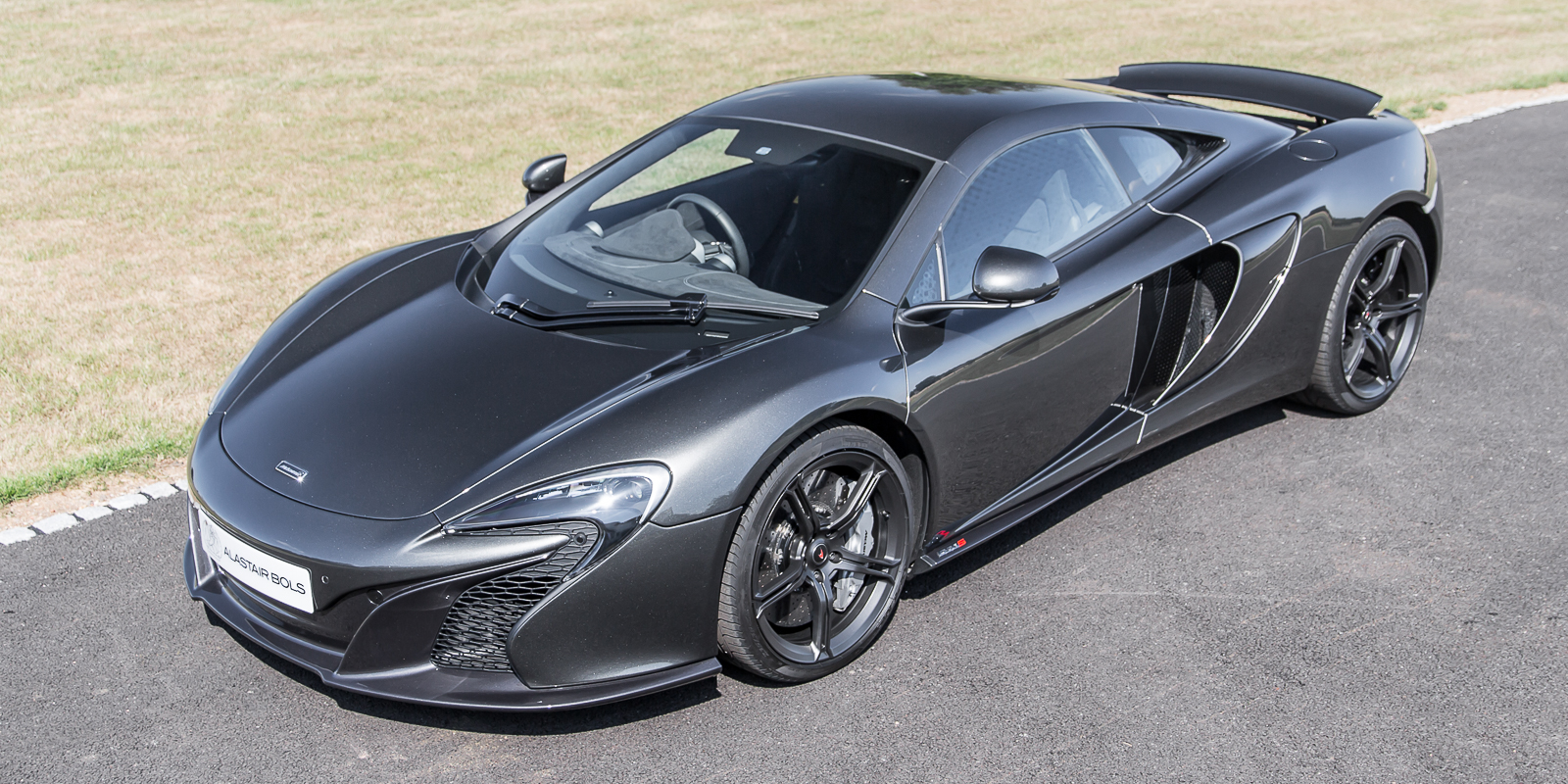 McLaren 650S Coupe Storm Grey