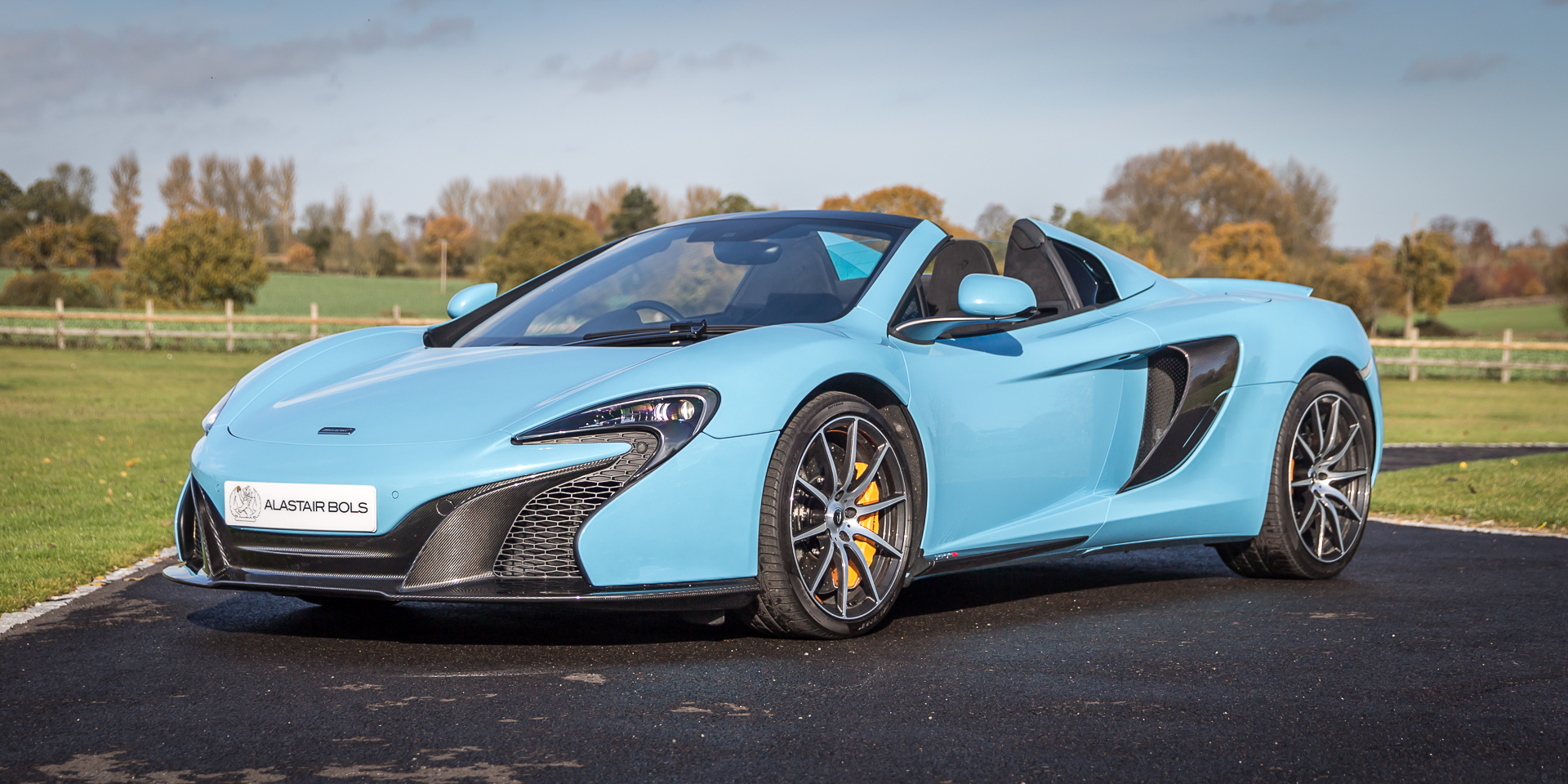 McLaren 650S Spider – Iridium Blue