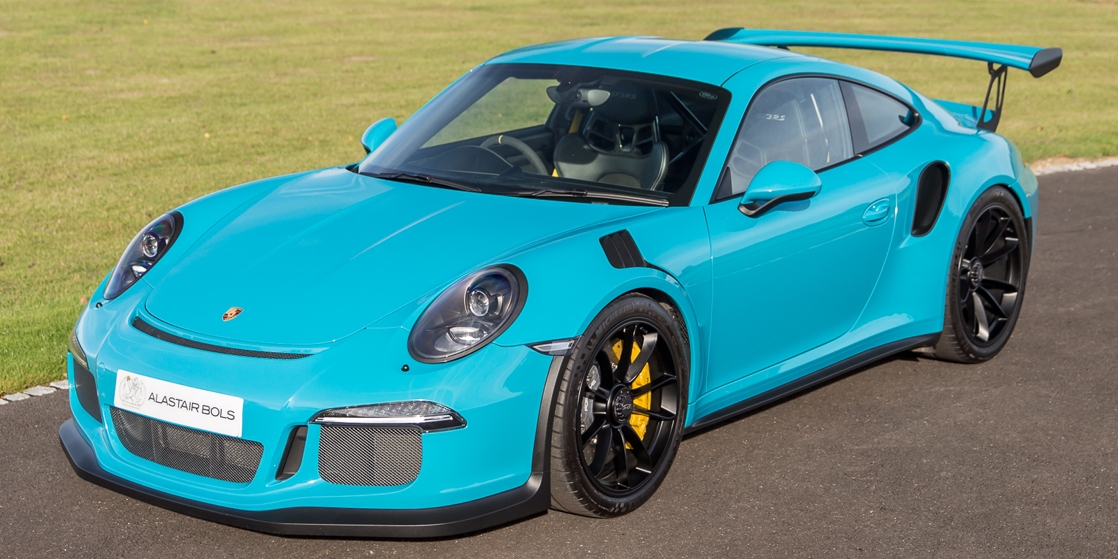 Porsche 991.1 GT3 RS Miami Blue