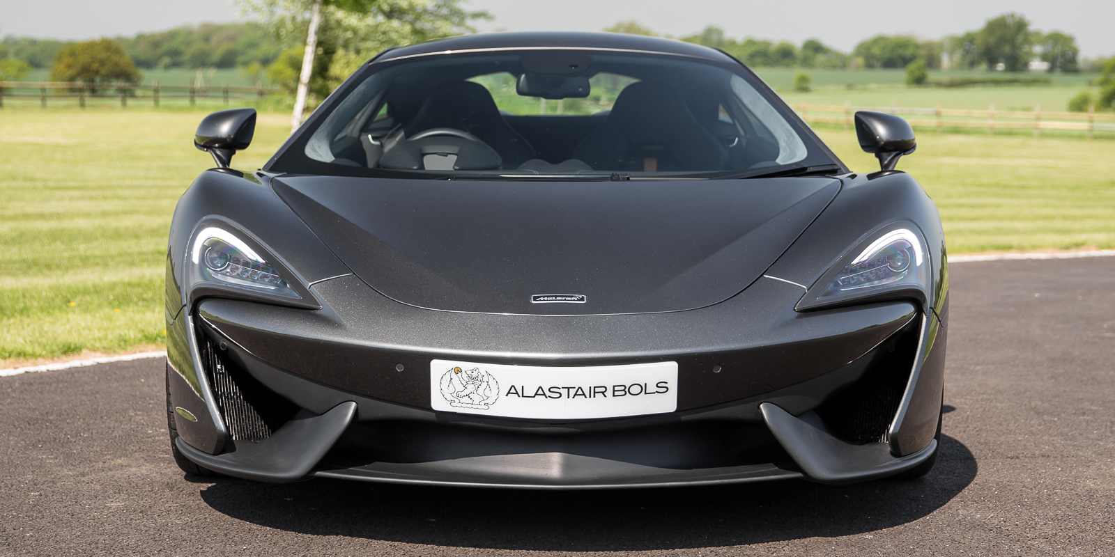 McLaren 540C Coupe Storm Grey