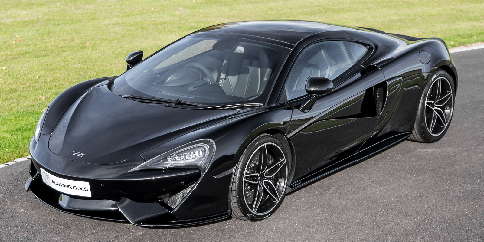 Mclaren 570gt Onyx Black Collection Alastair Bols