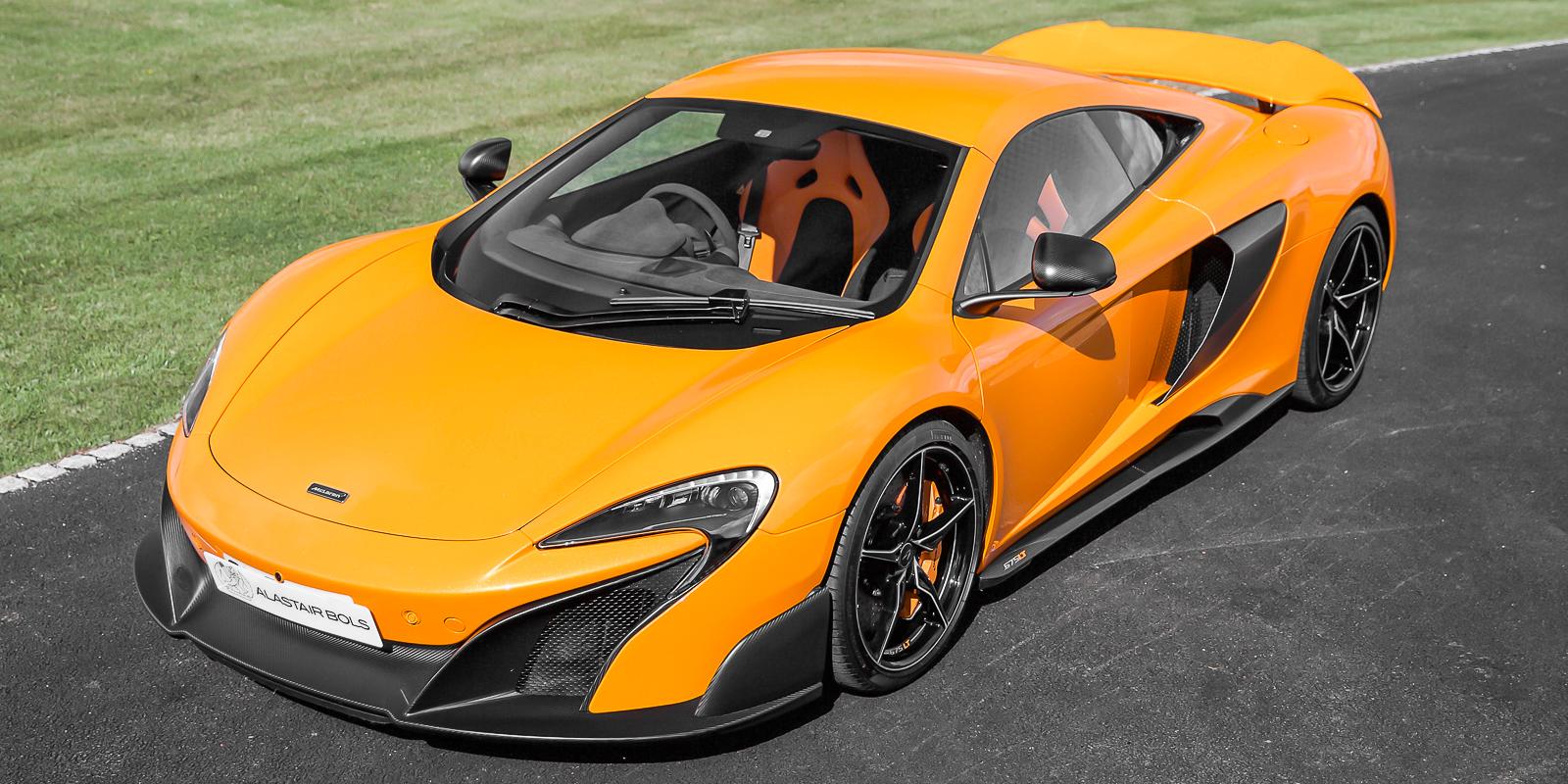 McLaren 675LT Coupe Papaya Spark