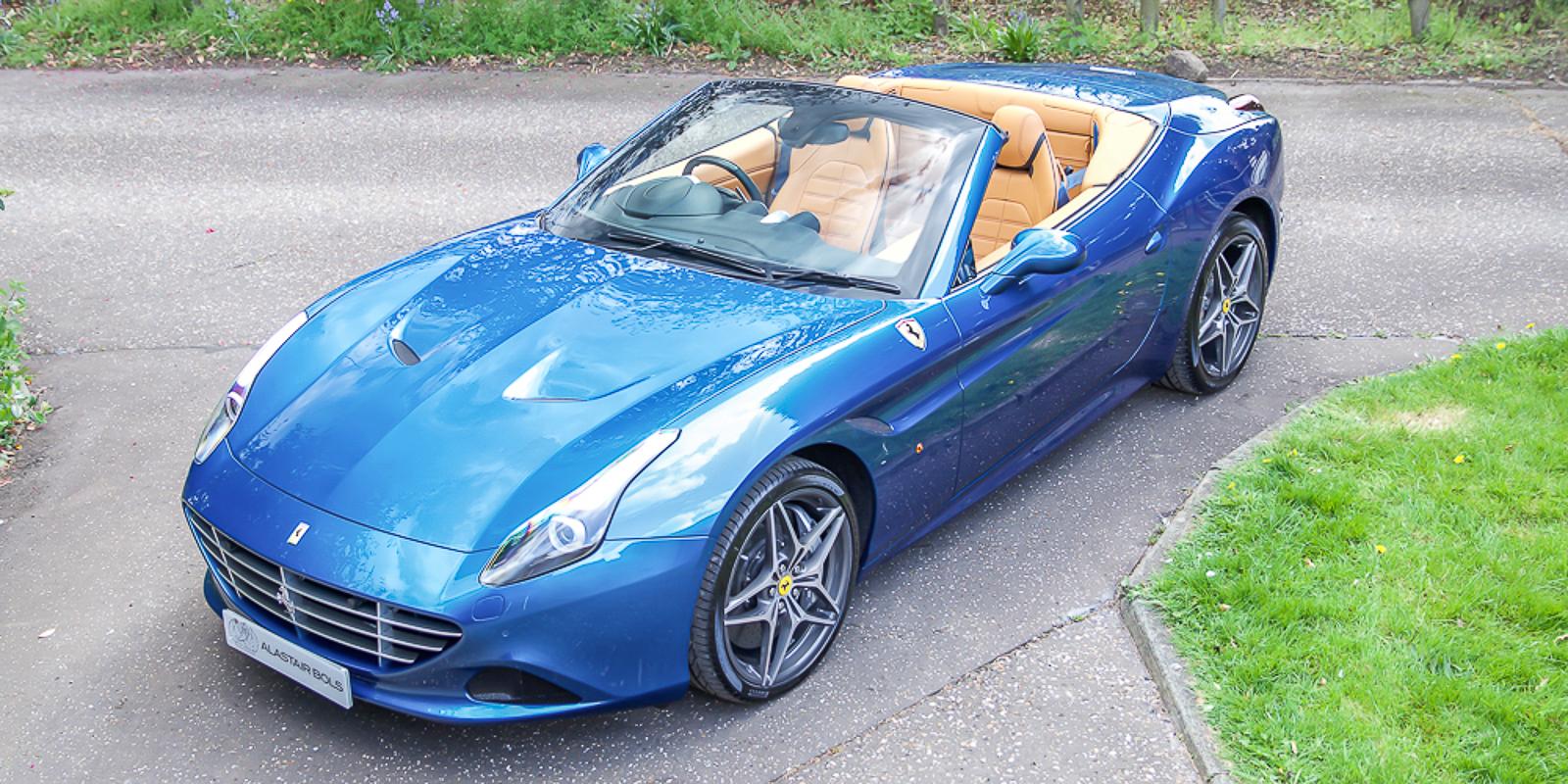 Ferrari California T Blu California