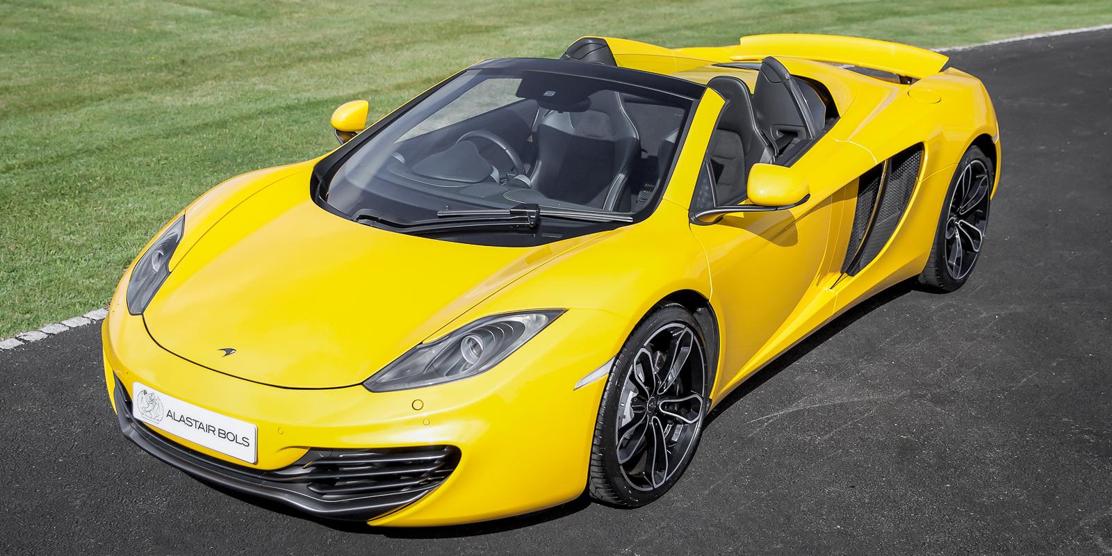 McLaren 12C Spider Volcano Yellow