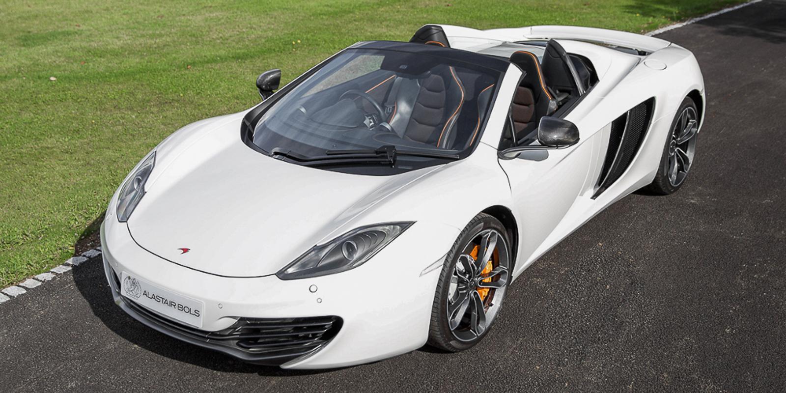 McLaren 12C Spider – Pearl White