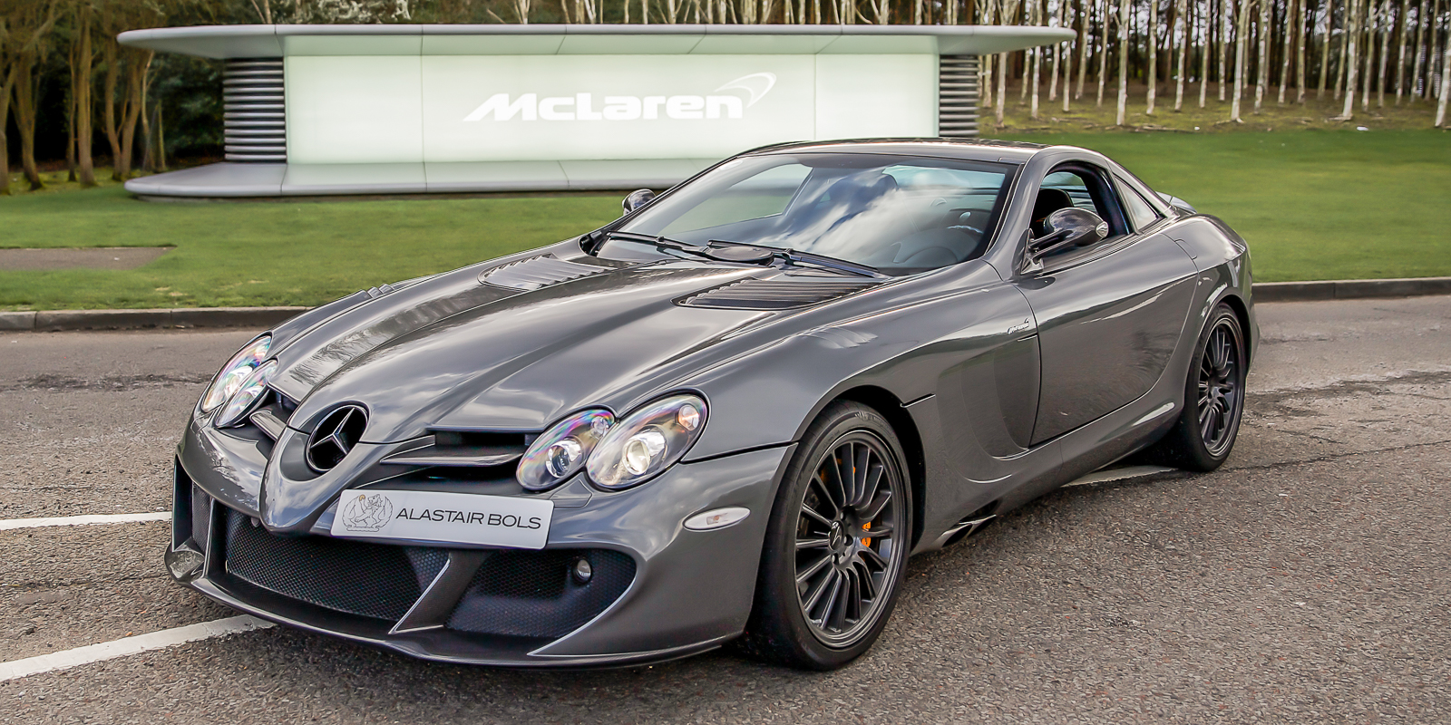 "McLaren Edition SLR – ""UPGRADE PACKAGE"""