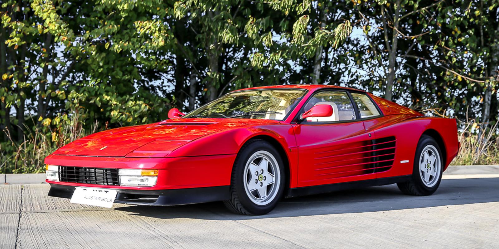Ferrari Testarossa Rosso Corsa