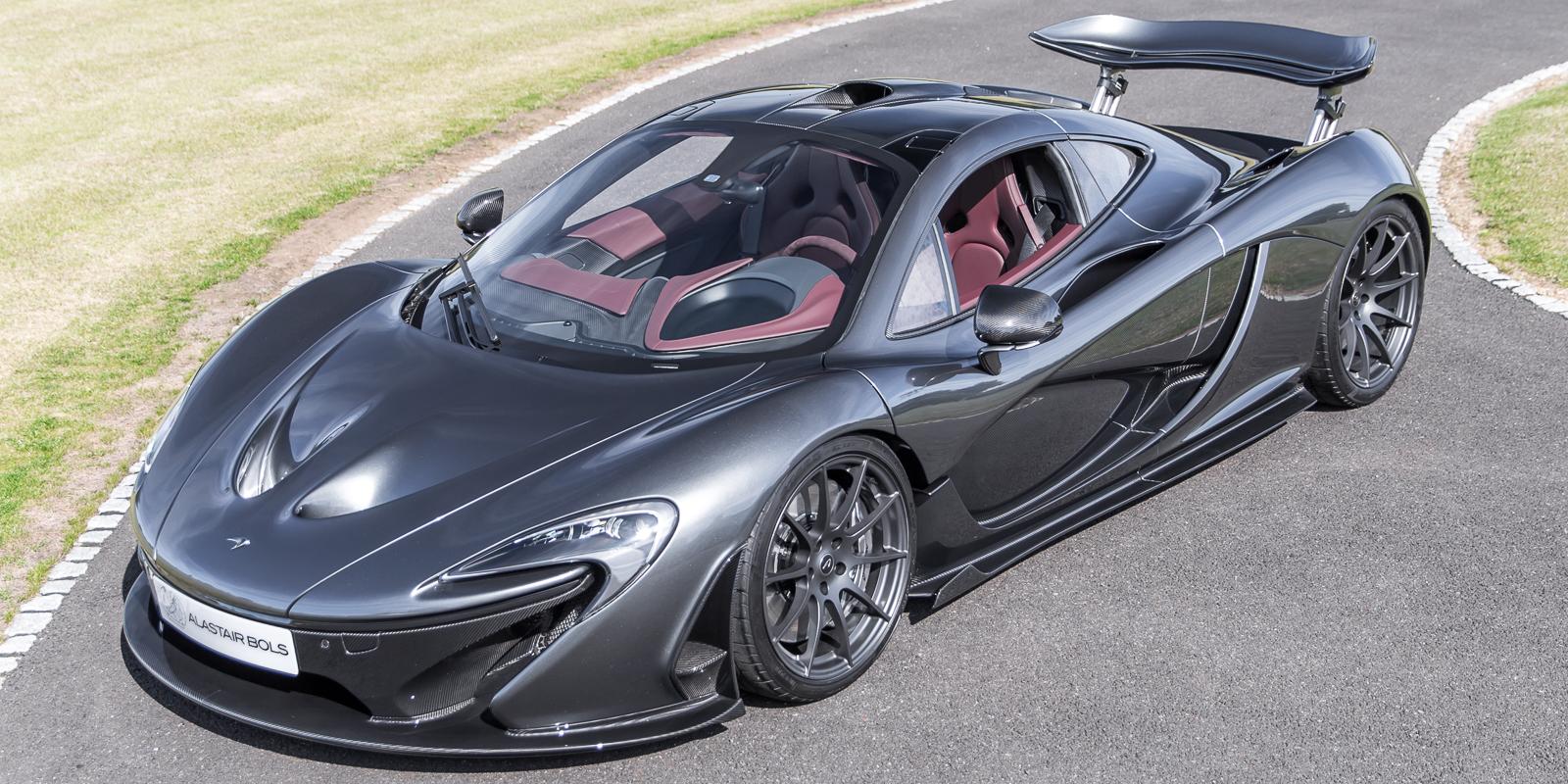 McLaren P1 – Graphite Grey