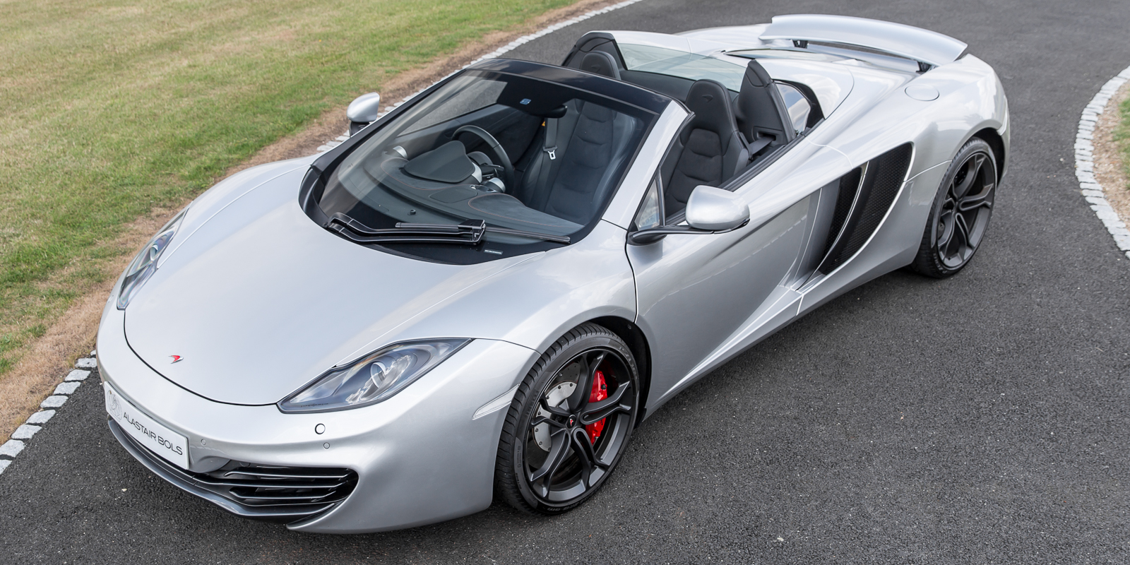 McLaren 12C Spider in Supernova Silver