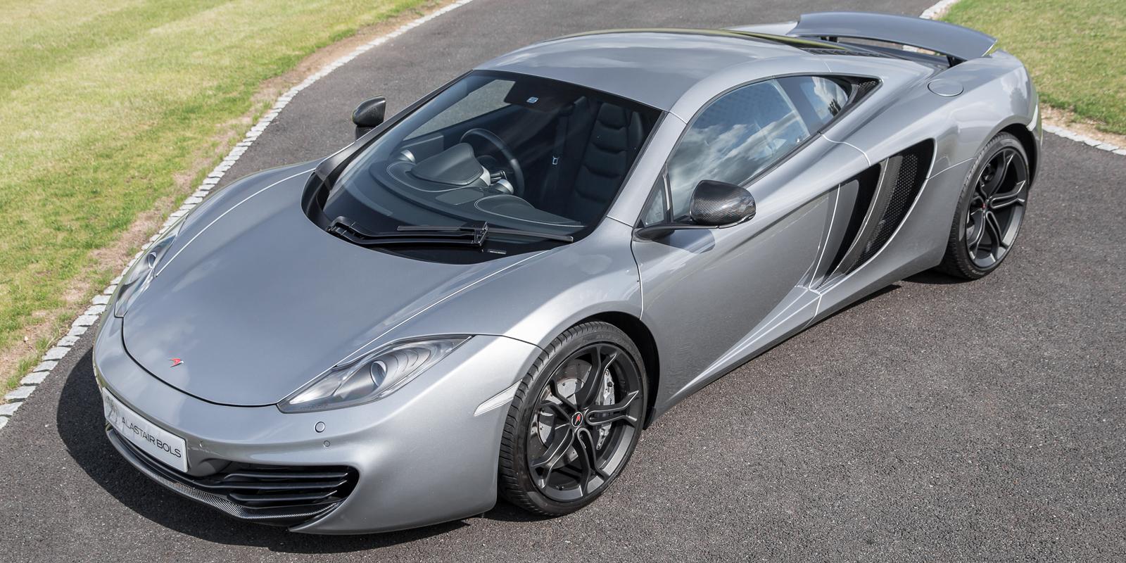 McLaren 12C Coupe – Titanium