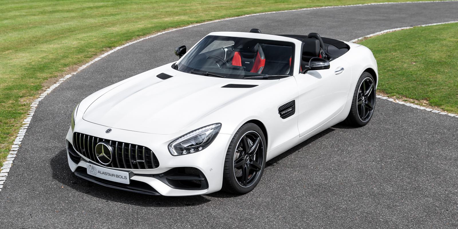 Mercedes-Benz AMG GT Roadster – Diamond White