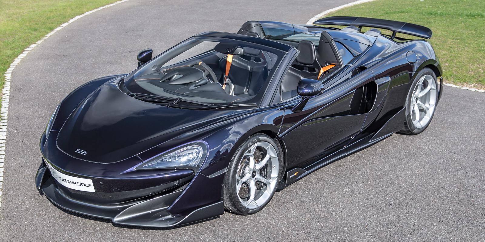 McLaren 600LT Spider – Amethyst Black