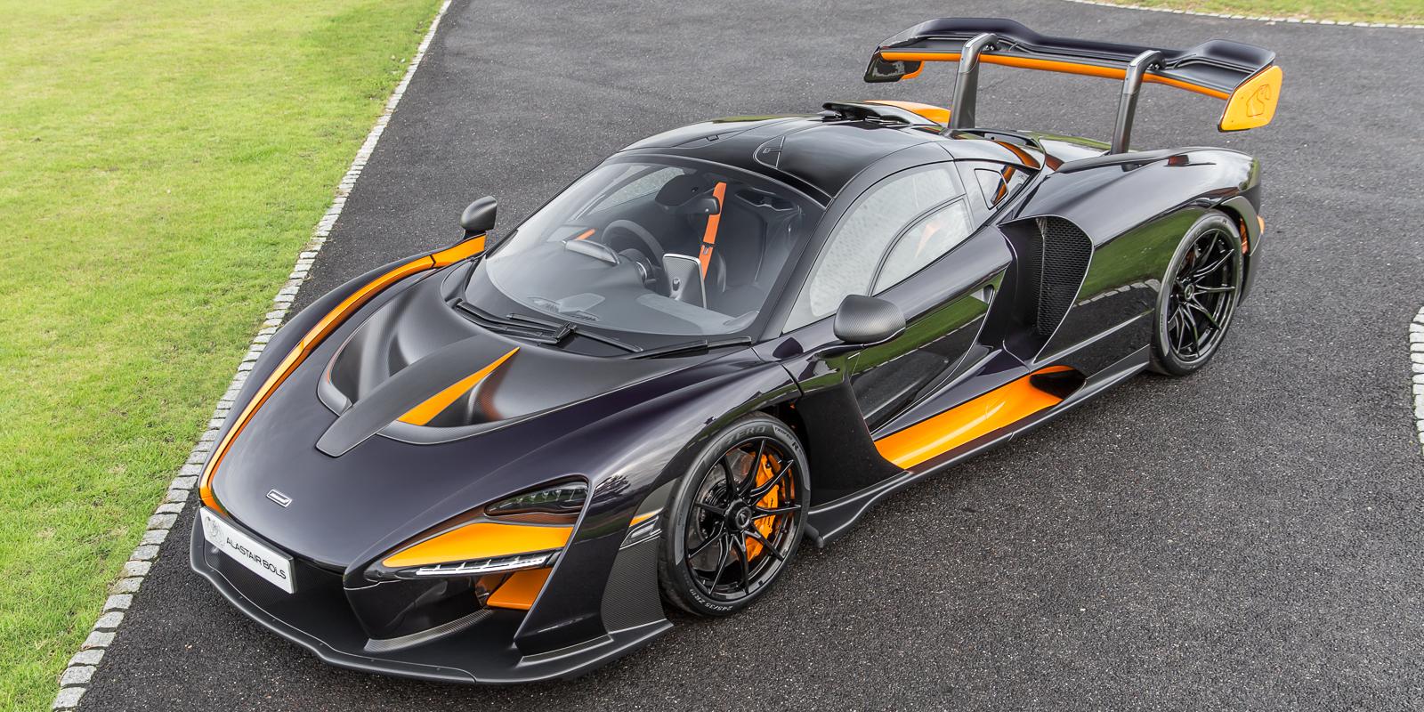 McLaren Senna – Amethyst Black