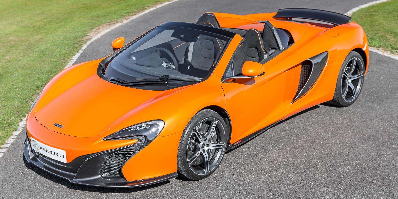 McLaren 650S Spider – Toracco Orange