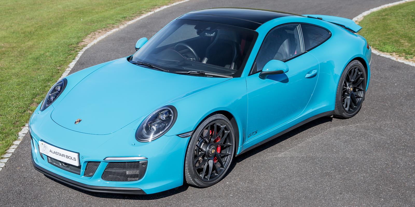 "Porsche 991.2 C2 PDK ""GTS"" – Miami Blue"