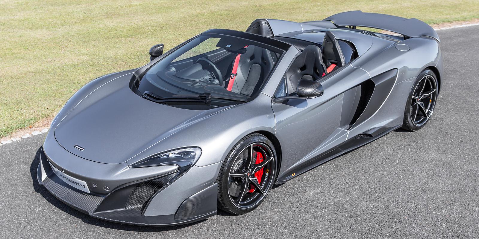 McLaren 675LT Spider – Titanium