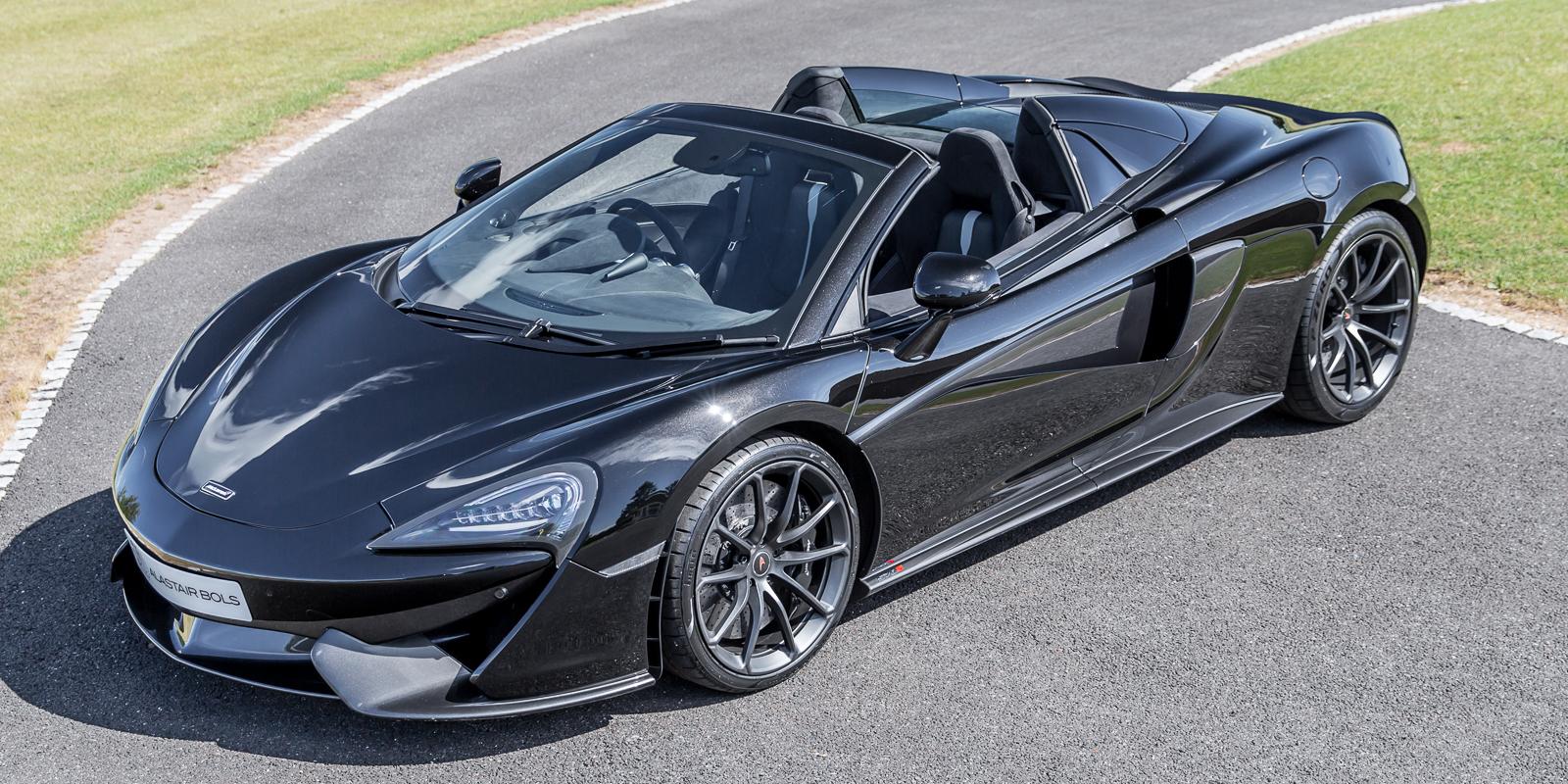 McLaren 570S Spider – ONYX BLACK