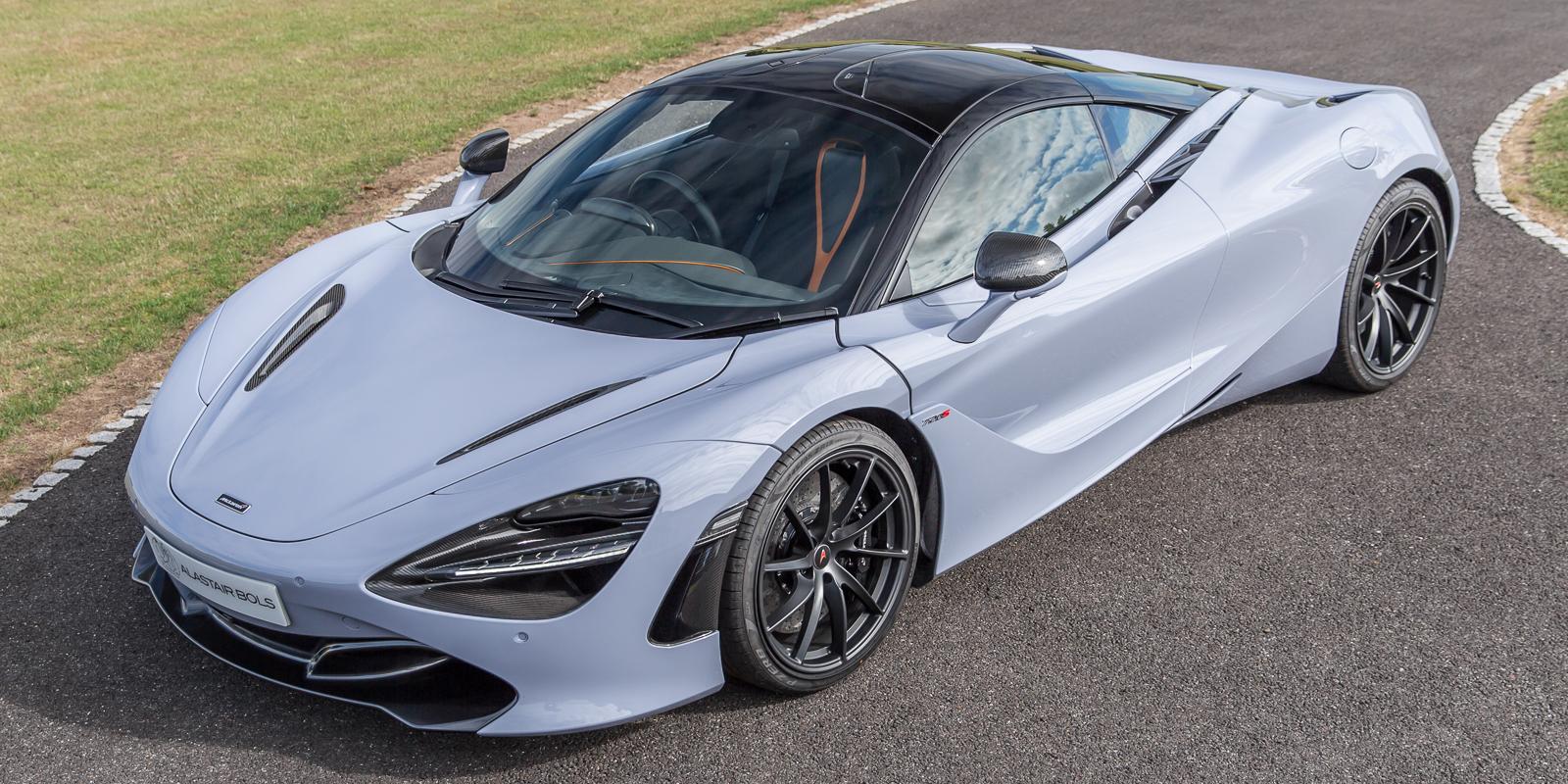 McLaren 720S Perf – Ceramic Grey