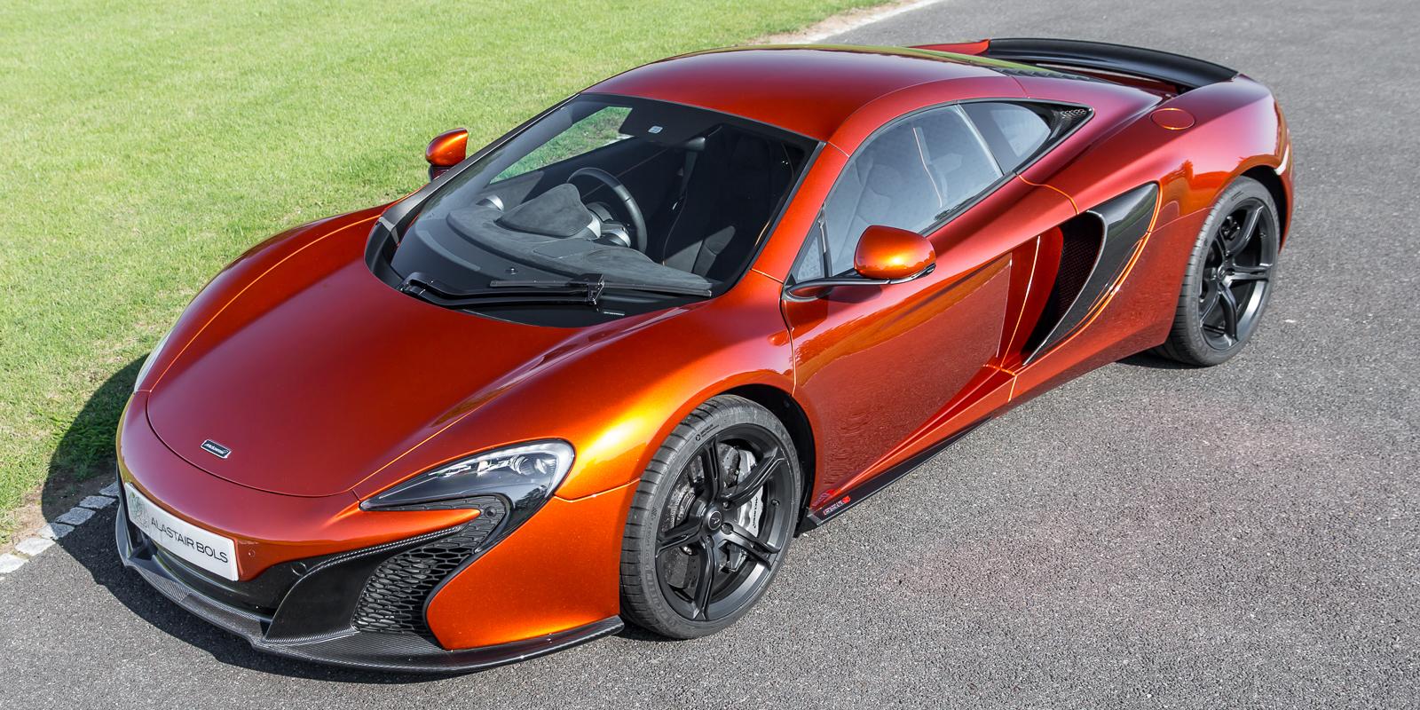 McLaren 650S Coupe – Volcano Orange