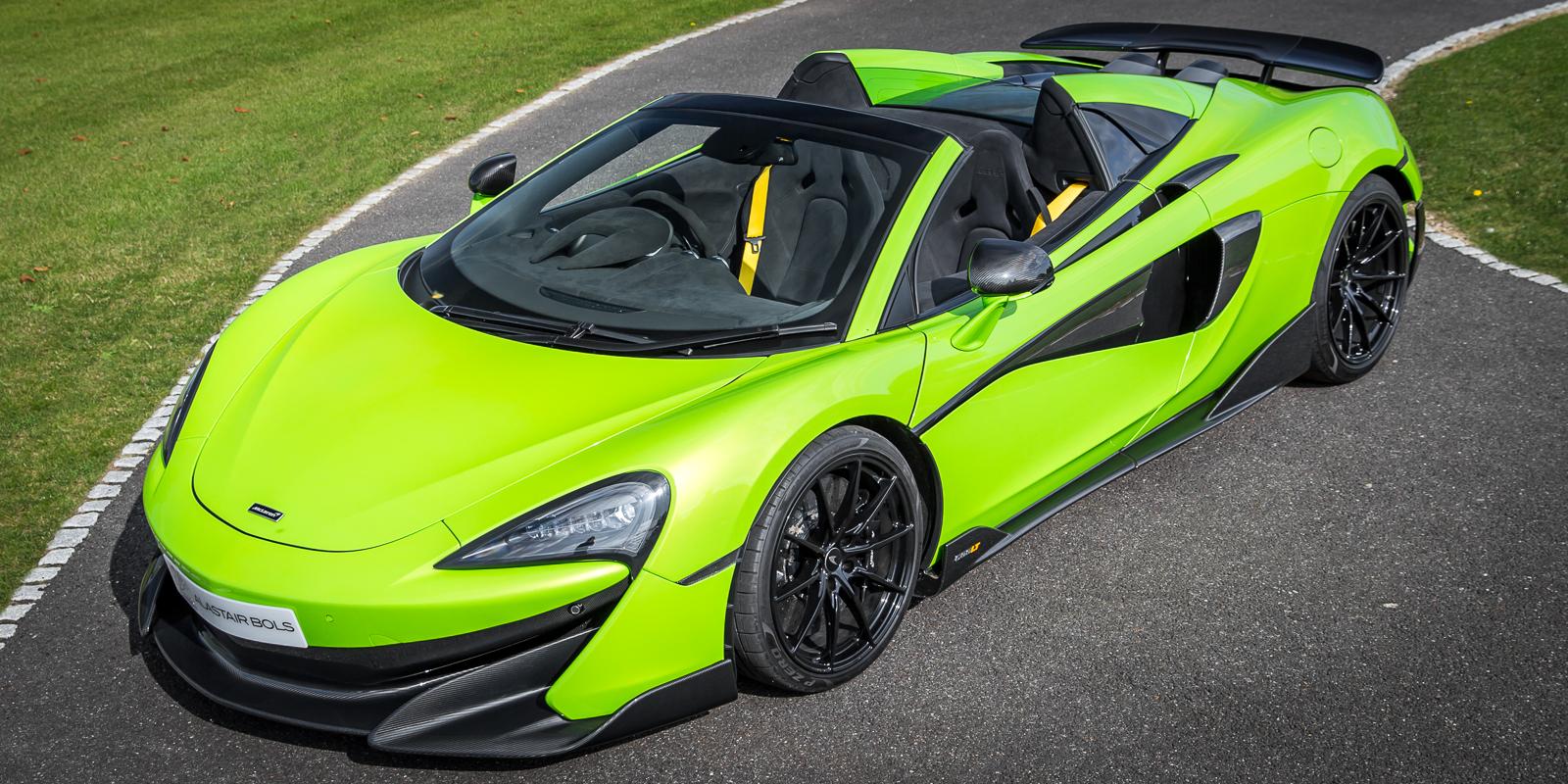 McLaren 600LT Spider – Deposit Receipt