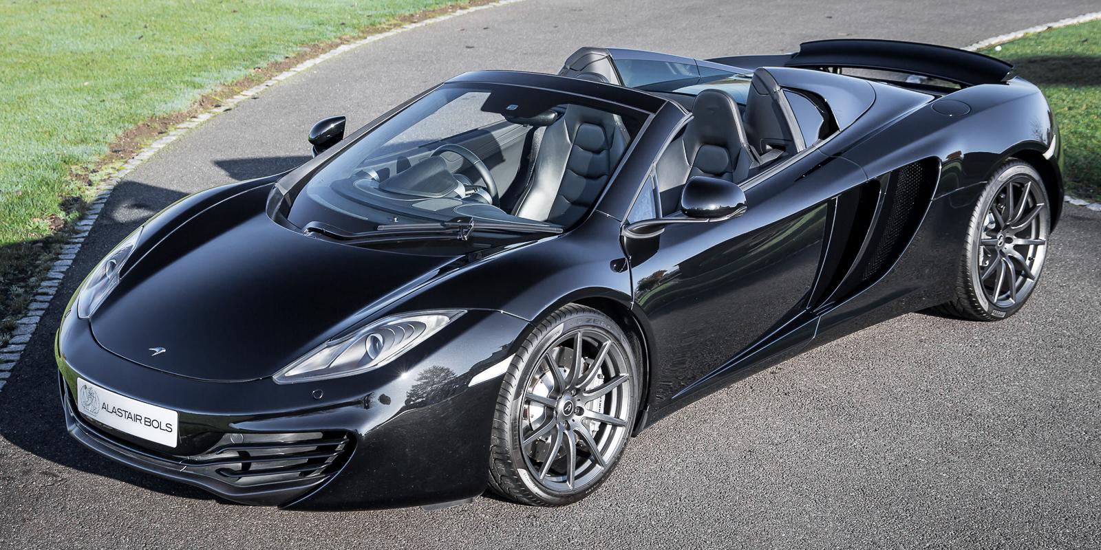 McLaren 12C Spider – Carbon Black