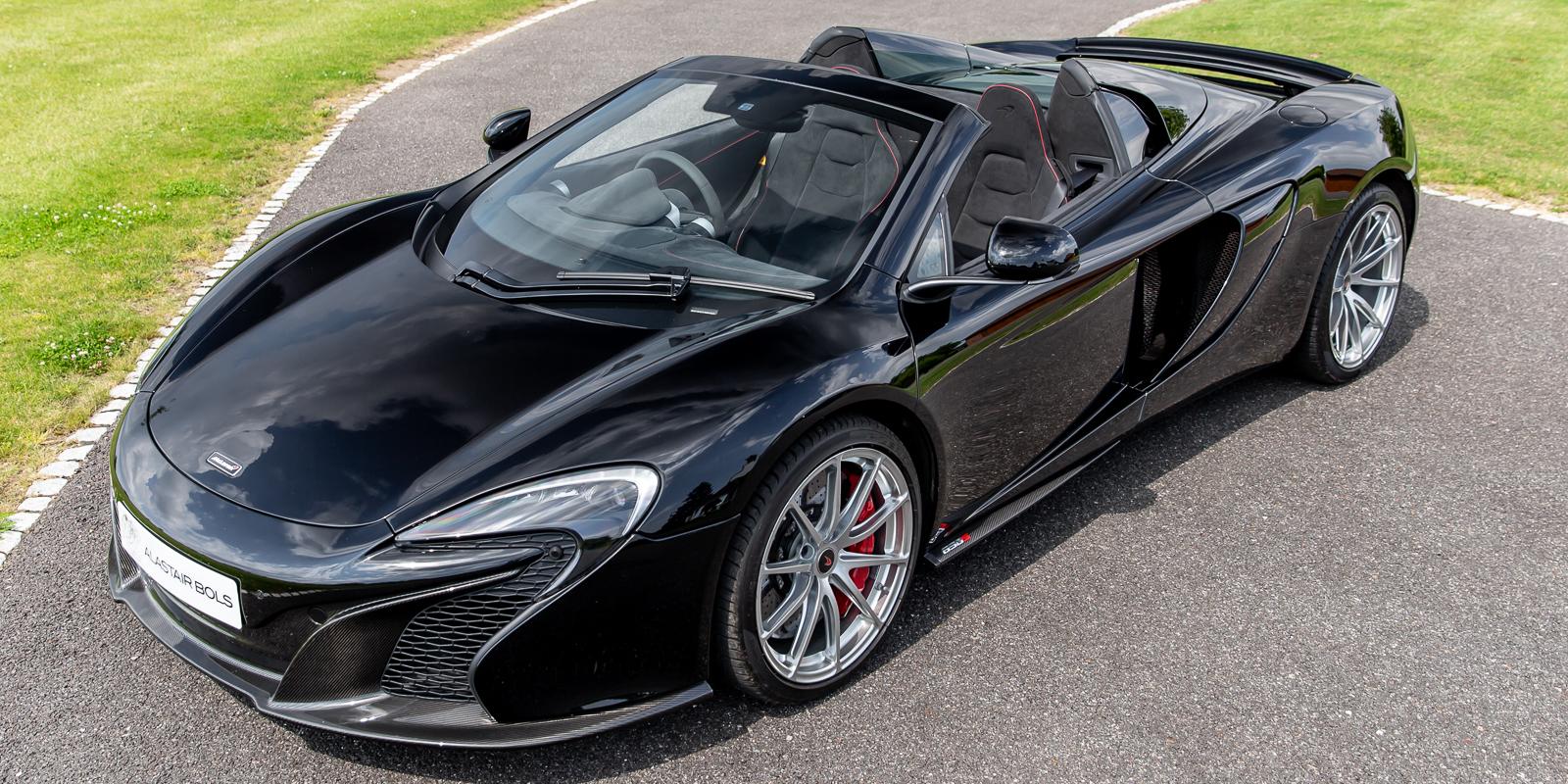 McLaren 650S Spider in Carbon Black