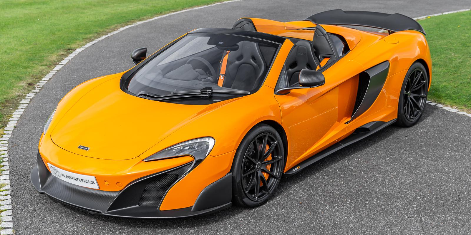 McLaren 675LT Spider – McLaren orange