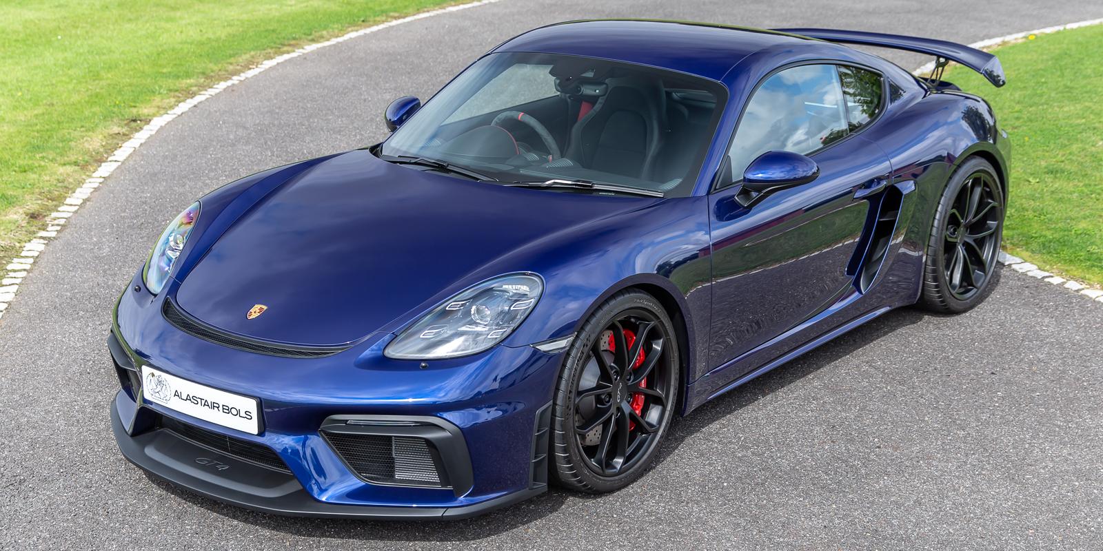Porsche Cayman GT4 – Gentian Blue