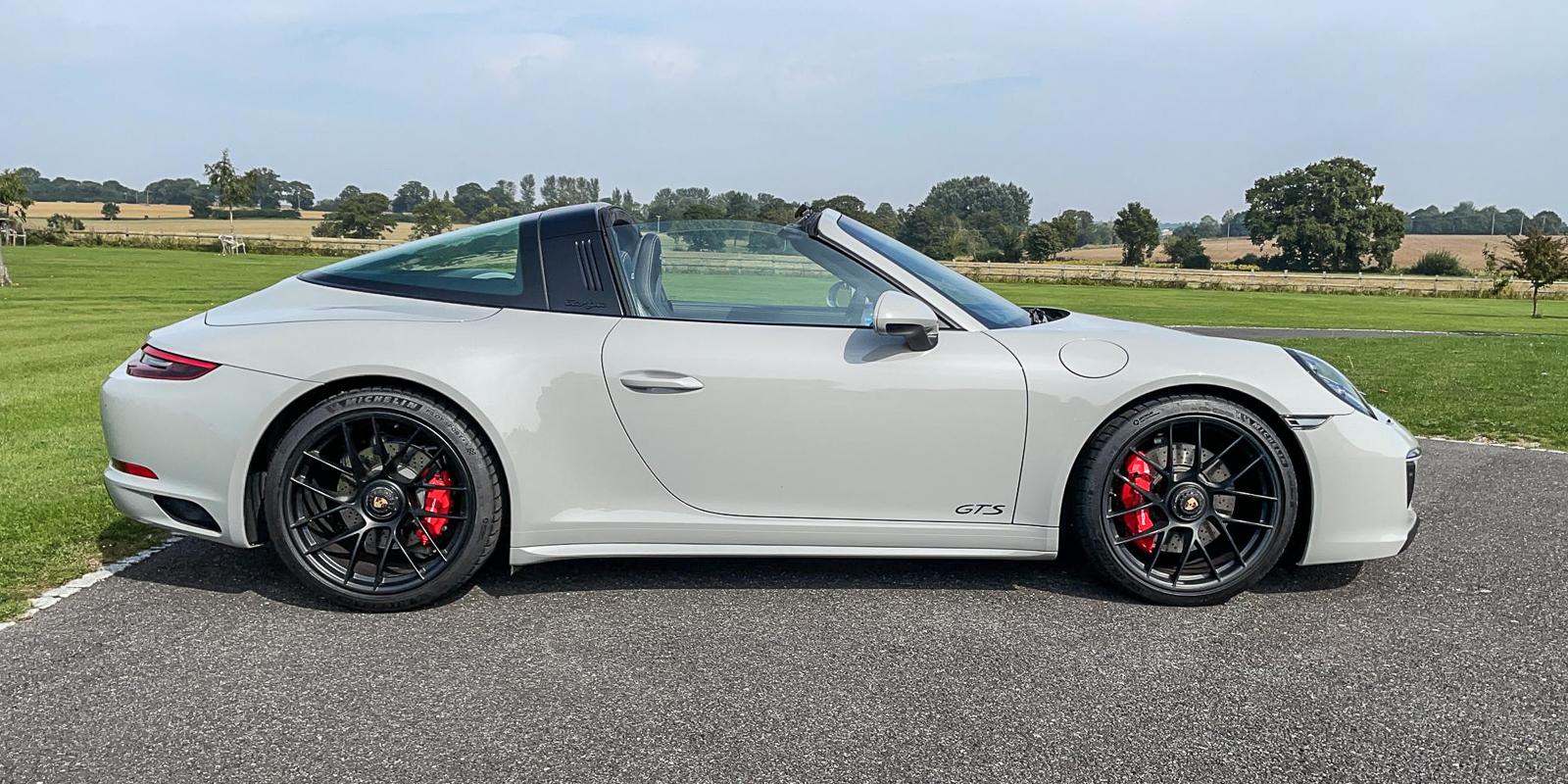 Porsche 991.2 GTS TARGA – Crayon Grey