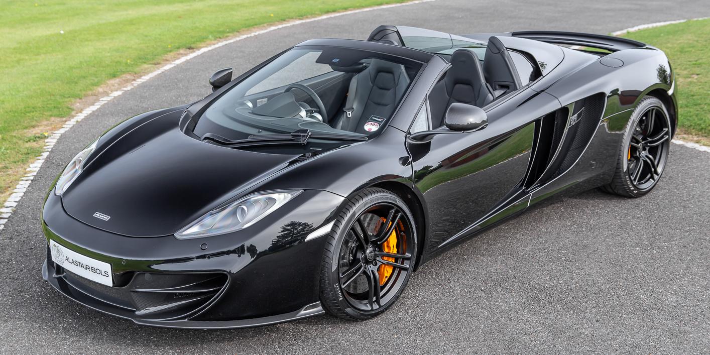 McLaren 12C Spider – 50th – Carbon Black