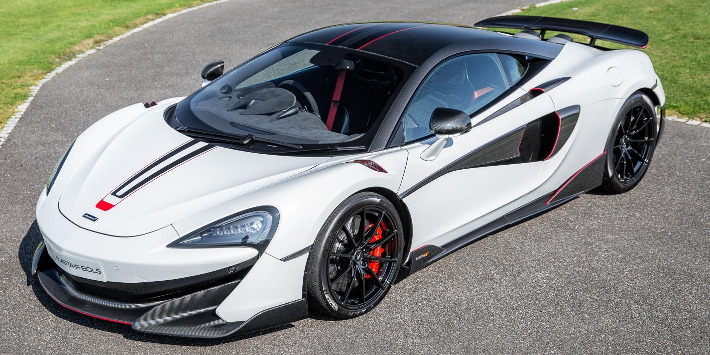 McLaren 600LT Coupe – Silica White