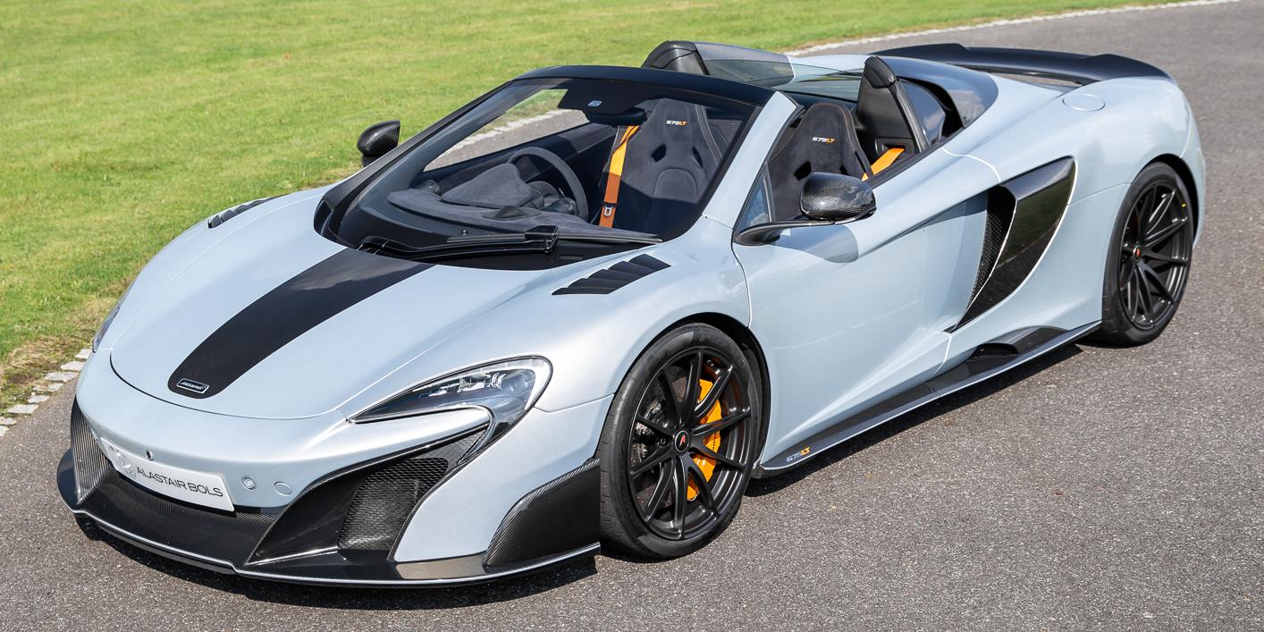 McLaren 675LTS – ICE SILVER